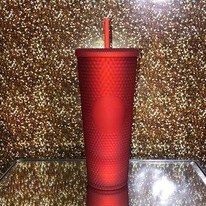 Starbucks Red matte studded venti tumbler
